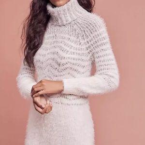 NEW Sleeping On Snow Anthro Sweater Dress Large L